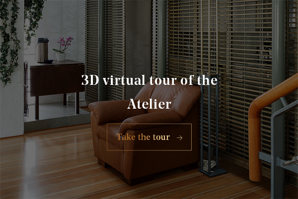 3D virtual tour of the Atelier
